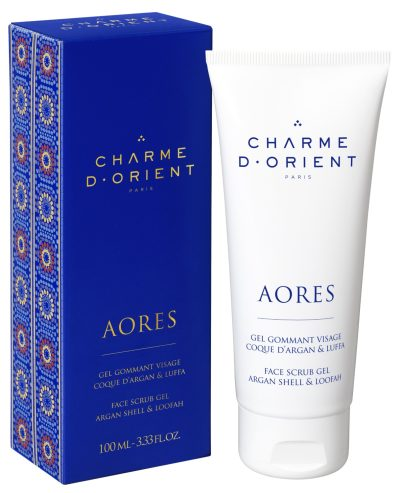 AORES FACE SCRUB GEL ARGAN SHELL & LOOFAH