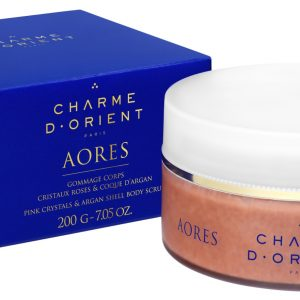 AORES BODY SCRUB PINK CRYSTALS & ARGAN SHELL BODY SCRUB