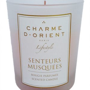 PERFUMED CANDLE MUSK SCENT